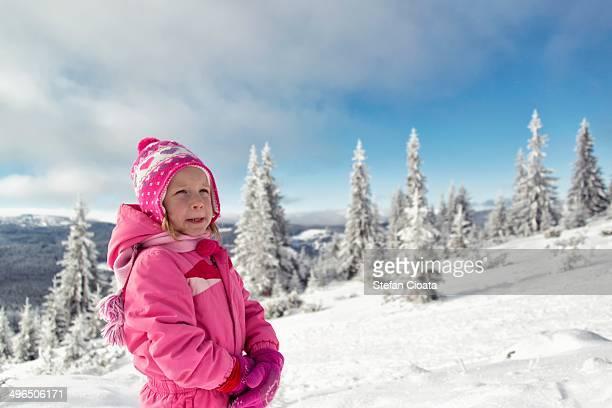 Admiring the winter scene