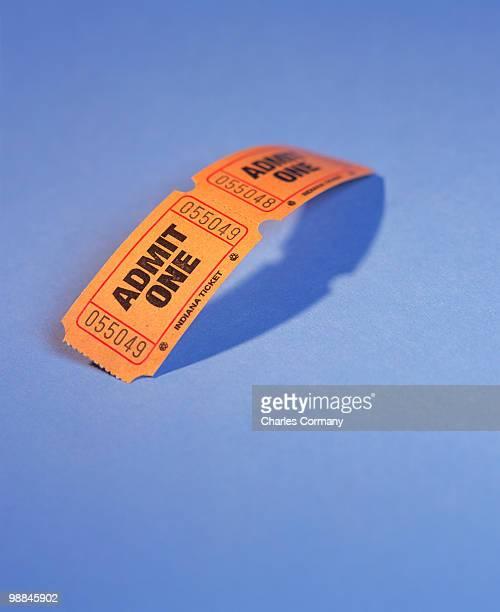 Admittance tickets