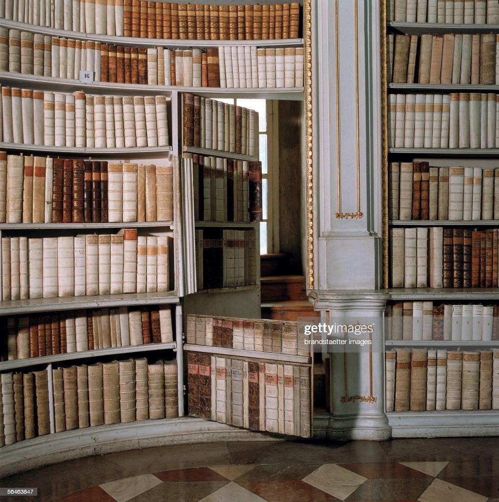 Benedictine Monastery Monastery Library Secret Door In
