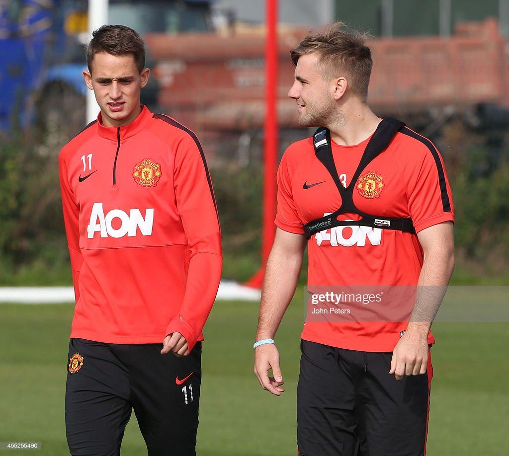 Manchester United Training Session : Photo d'actualité