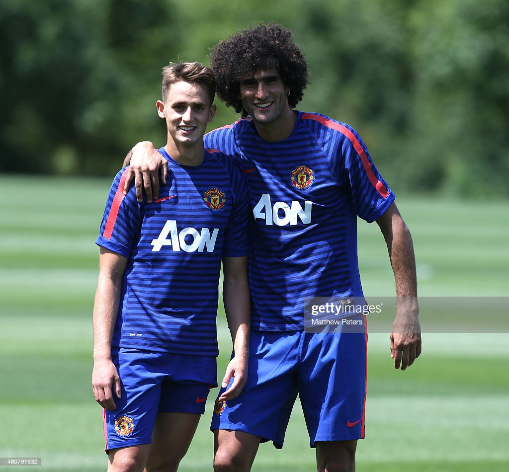 Manchester United US Tour - Training Session - Day 2 : News Photo