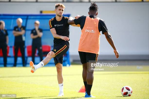 Adnan Januzaj midfielder of Belgium during a training session as part of the preparation prior to the FIFA 2018 World Cup Russia Playoff for third...