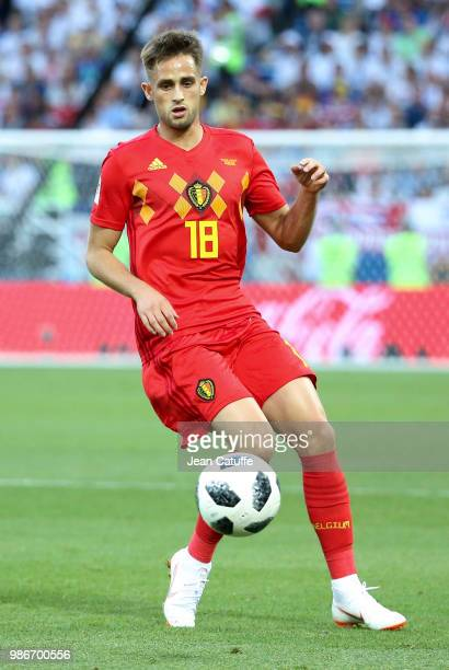 Adnan Januzaj of Belgium during the 2018 FIFA World Cup Russia group G match between England and Belgium at Kaliningrad Stadium on June 28 2018 in...