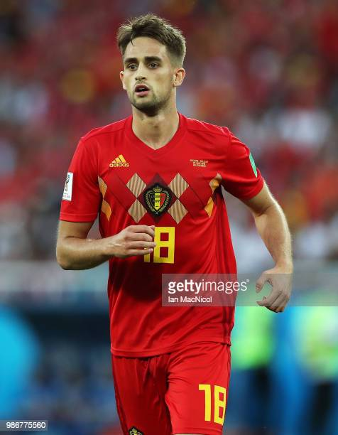 Adnan Januzaj of Belgium is seen during the 2018 FIFA World Cup Russia group G match between England and Belgium at Kaliningrad Stadium on June 28...