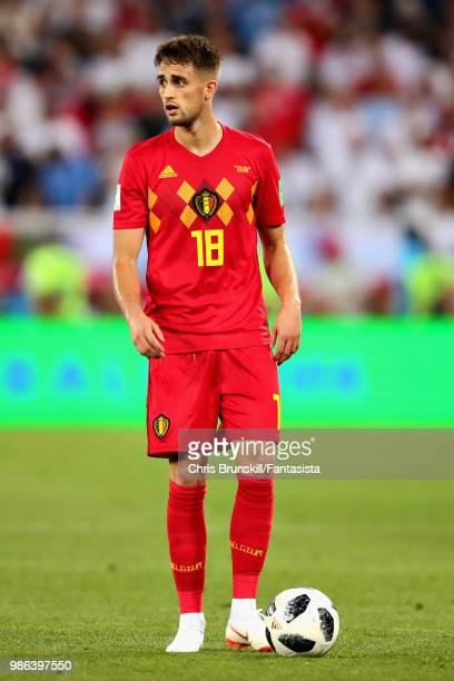 Adnan Januzaj of Belgium prepares to take a free kick during the 2018 FIFA World Cup Russia group G match between England and Belgium at Kaliningrad...