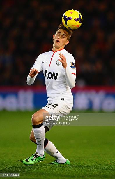 Adnan Januzaj of Manchester United in action during the Barclays Premier League match between Crystal Palace and Manchester United at Selhurst Park...