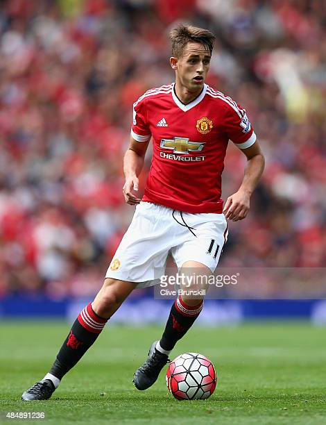 Adnan Januzaj of Manchester United in action during the Barclays Premier League match between Manchester United and Newcastle United at Old Trafford...