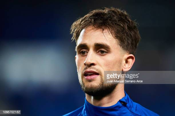 Adnan Januzaj of Real Sociedad looks on prior to the start the Copa del Rey Round of 16 second leg match between Real Sociedad and Real Betis...