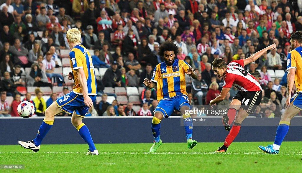 Sunderland v Shrewsbury Town: EFL Cup
