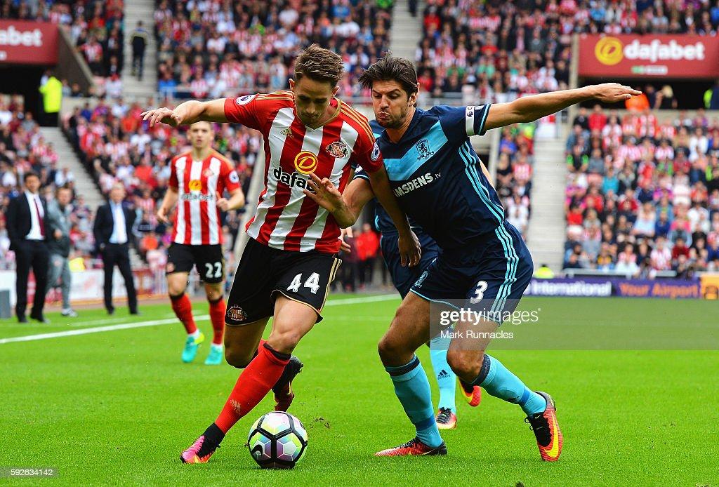 Sunderland v Middlesbrough - Premier League : News Photo