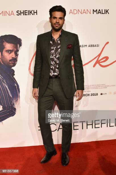 Adnan Malik attends the UK Premiere of 'Cake' at the Vue West End on March 13 2018 in London England