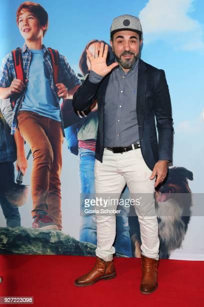 Adnan Maral during the 'Fuenf Freunde und das Tal der Dinosaurier' premiere at Mathaeser Kino on March 4 2018 in Munich Germany