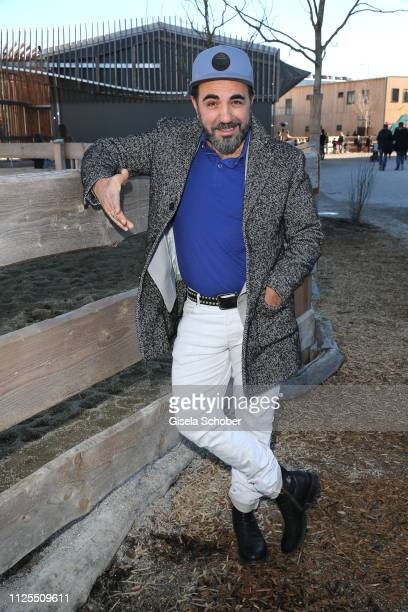 Adnan Maral during the premiere of the film 'Ostwind Aris Ankunft' at Equilaland on February 17 2019 in Munich Germany