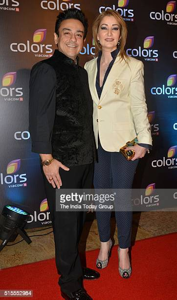 Adnan Sami at the annual party by Colors Tv in Mumbai