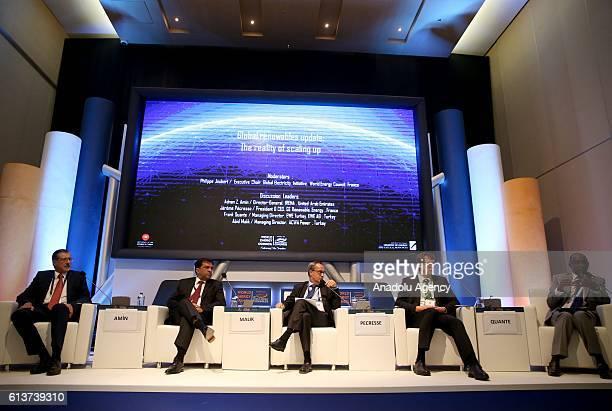 Adnan Z. Amin, Director-General, IRENA, Abid Malik, Managing Director Acwa Power Turkey, ACWA Power, Jerome Pecresse, President & CEO, GE Renewable...