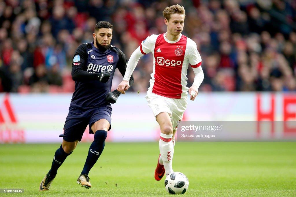 Ajax v Fc Twente - Dutch Eredivisie : News Photo