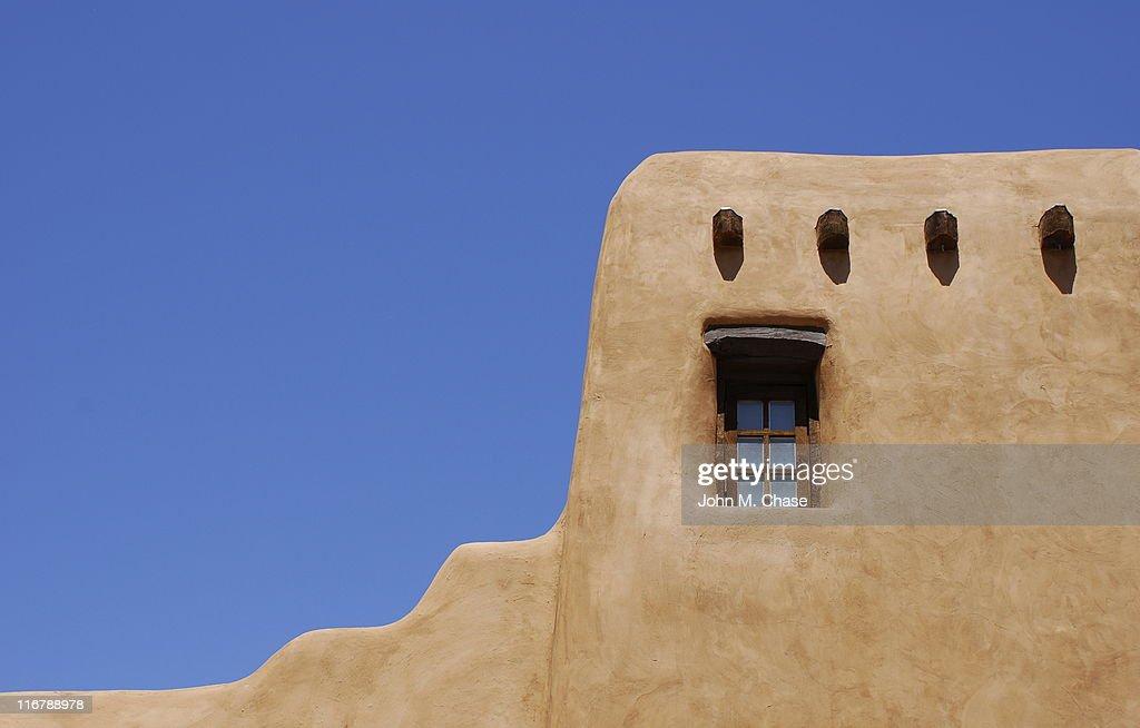 Adobe Building, Santa Fe : Stock Photo