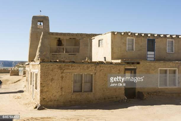 Adobe homes at Acoma Pueblo