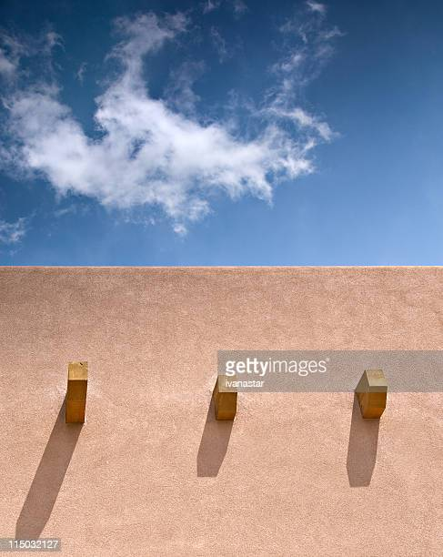 Adobe House Detail, Santa Fe