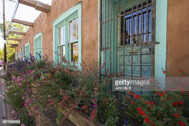Adobe house in Santa Fe