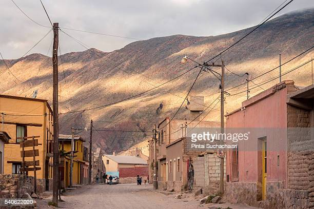 Adobe houses in Tilcara, Argentina