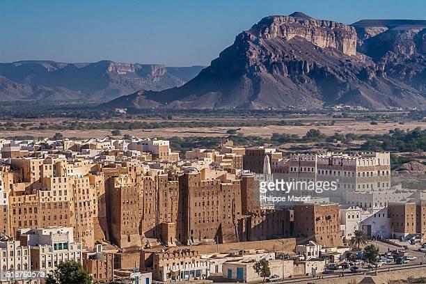 Adobe mud skyscrapers of Shibam, Yemen