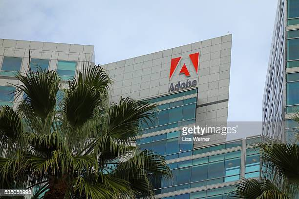 Adobe Systems world headquarters in downtown San Jose California