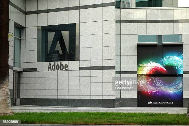 Adobe Systems world headquarters in downtown San Jose California USA