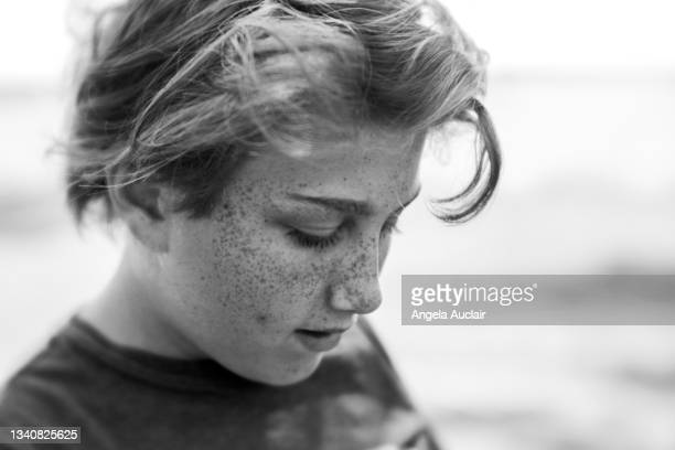 adolescent boy - angela auclair stock pictures, royalty-free photos & images