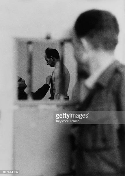 Adolf Eichmann At The Medical Examination Before The Trial On April 12Th 1961