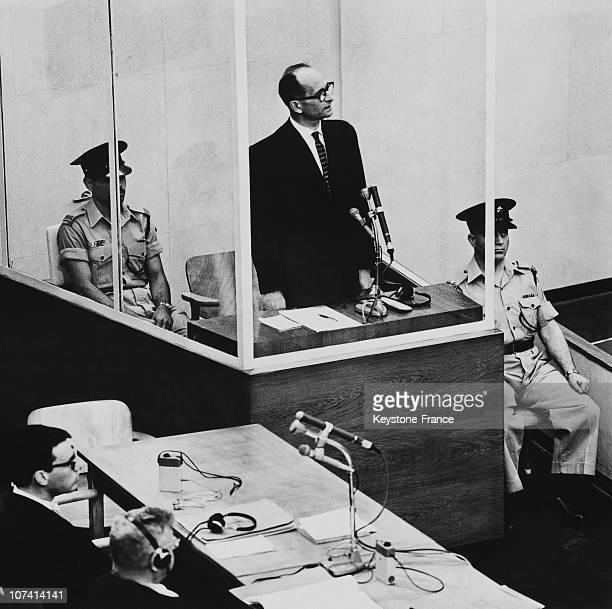 Adolf Eichmann S Trial On April 14Th In Jerusalem