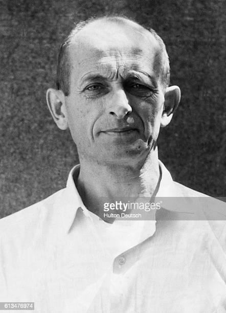Adolf Eichmann the Nazi war criminal and fanatical antisemite