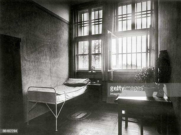 Adolf Hilter's room in the prison of Landsberg at Lech during his imprisonment after the socalled putsch 1923 Germany Photography 2481923 [Adolf...