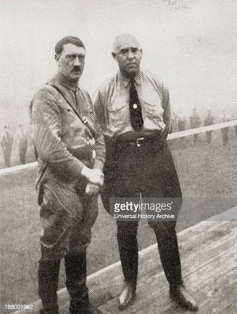 Adolf Hitler And Gregor Strasser Adolf Hitler 1889 – 1945 AustrianBorn German Politician And The Leader Of The National Socialist German Workers...