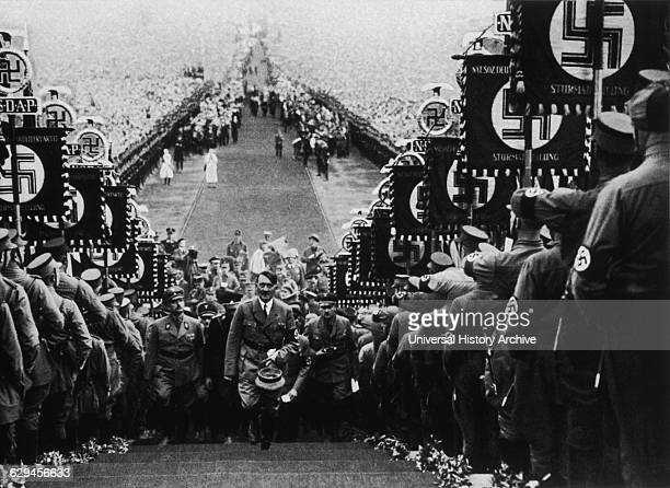Adolf Hitler Attending Buckeberg Harvest Festival Germany October 1 1934