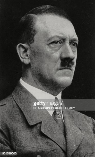 Adolf Hitler German politician from L'Illustrazione Italiana Year LXVIII No 32 August 10 1941