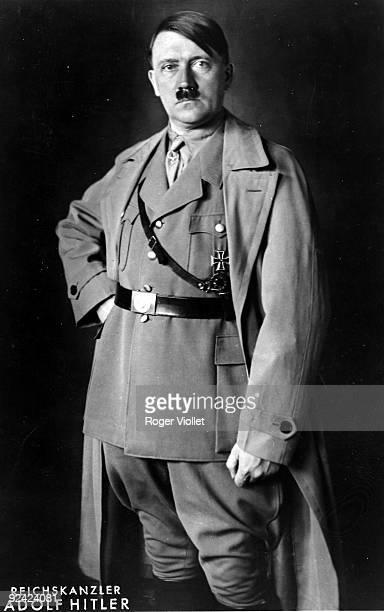 Adolf Hitler German statesman chancellor of Reich Official photo