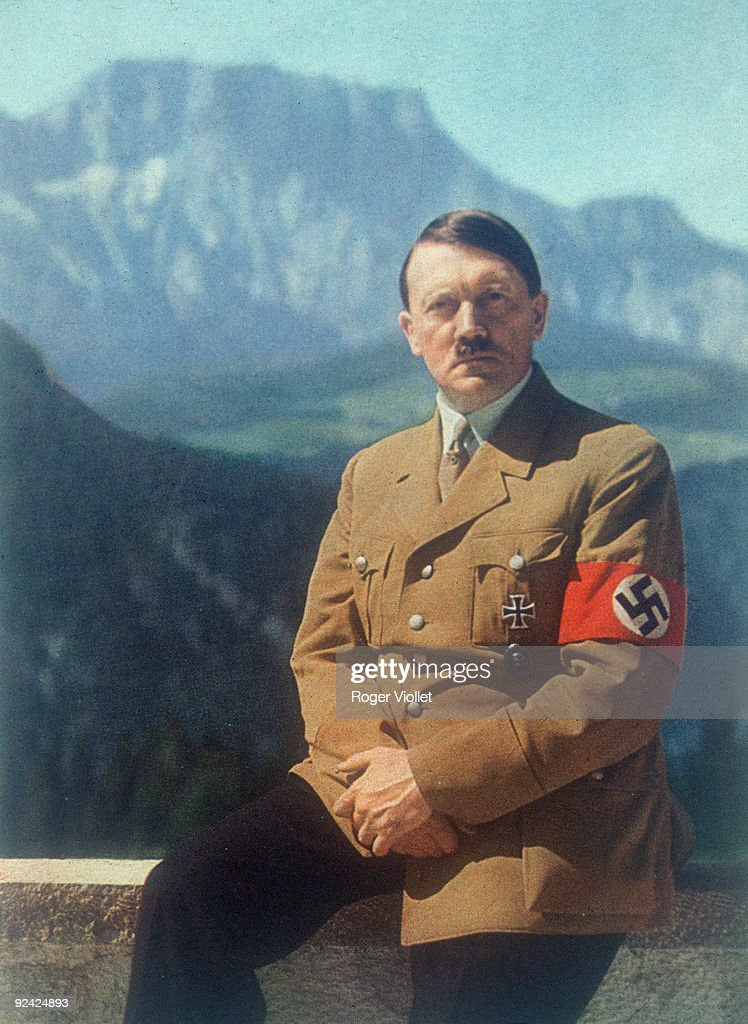 Adolf Hitler (1889-1945), German statesman, : News Photo
