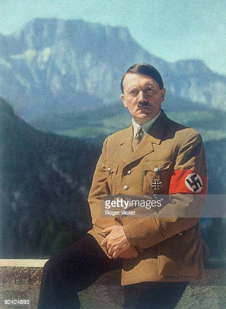 Adolf Hitler German statesman in Berchtesgaden