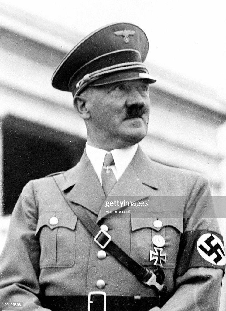 Adolf Hitler (1889-1945), German statesman. : News Photo