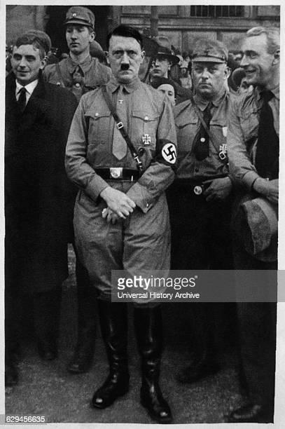 Adolf Hitler in Braunschweig Germany 1931