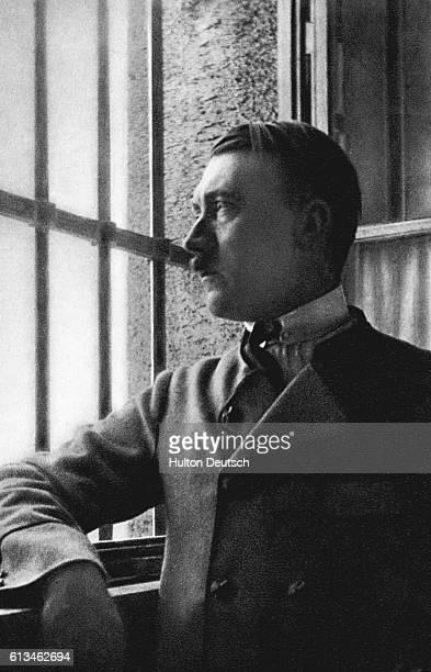 Adolf Hitler in Landsberg Am Lech Prison in 1924 | Location Landsberg Prison Germany