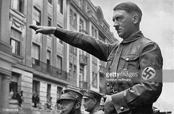 Adolf Hitler in Munich in the spring of 1932