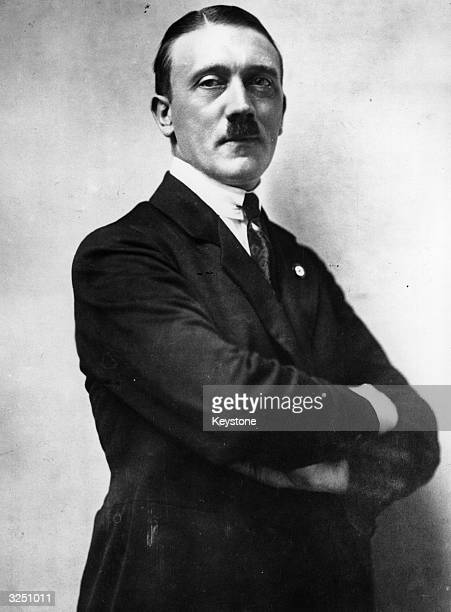 Adolf Hitler leader of the National Socialist German Workers' Party