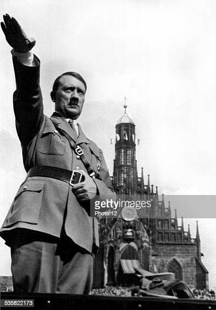 Adolf Hitler Party Political celebrations in 1934