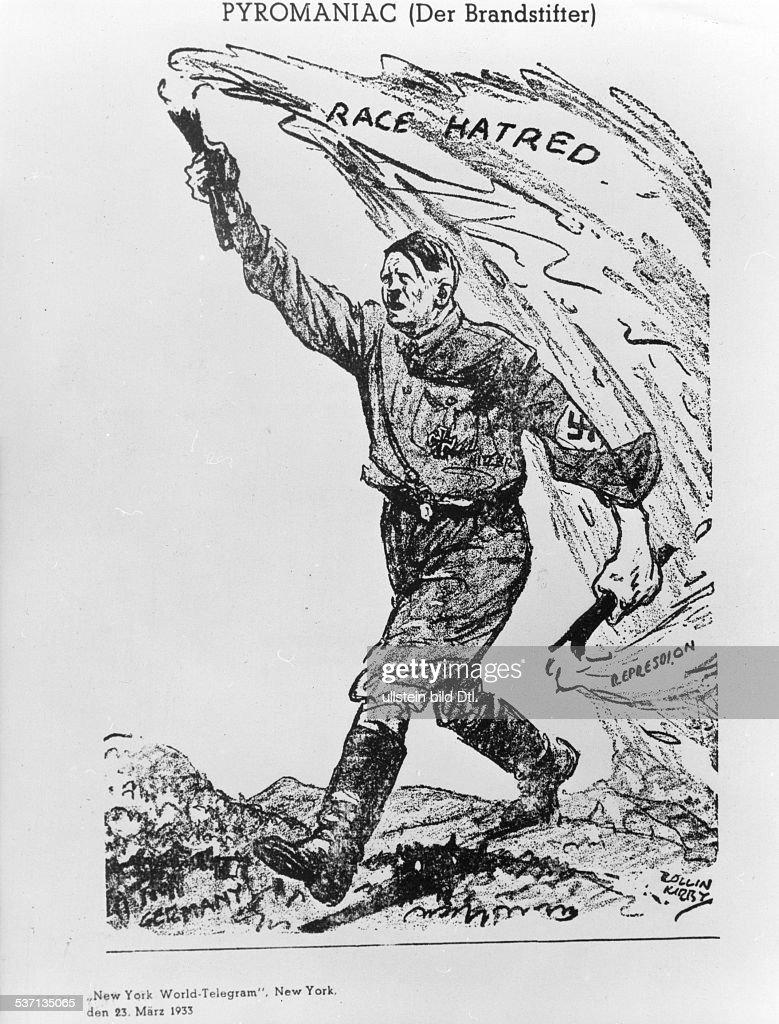 Adolf Hitler, , Politiker, NSDAP, D, Pyromaniac