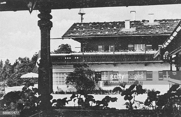Adolf Hitler's country house near Berchtesgaden Bavaria Weimar Republic