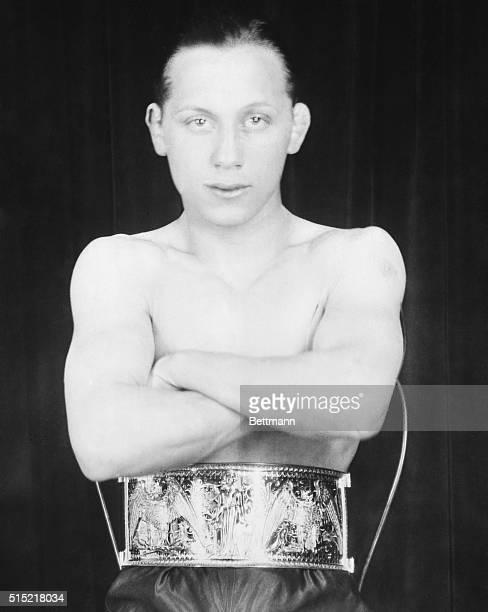 "Adolf ""Midget"" Wolgast, flyweight champion of Penn. Won belt 5/28/1928. Undated."