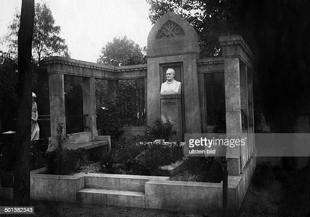Adolf Stöcker member of german parliament burial place date unknown