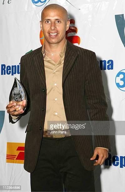 Adolfo Bautista during 2005 Premios Fox Sports Press Room at Jackie Gleason Theater in Miami Beach Florida United States